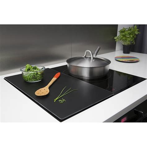 plaque protection plan de travail cuisine planche de protection pour plaque de cuisson pebbly 57 x 50 cm protection plaques de