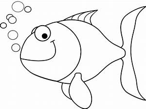 Fish Outline Clip Art at Clker.com - vector clip art ...