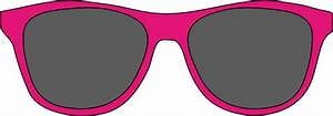 Pink Sunglasses Clip Art at Clker.com - vector clip art ...