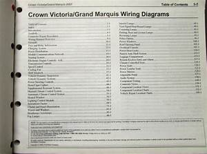 2007 Ford Mercury Electrical Wiring Diagram Manual Crown
