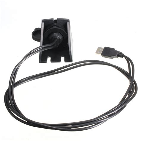 Boat Aux Cable by Car Boat Dash Flush Mount Usb 3 5mm 2 0 Aux Extension
