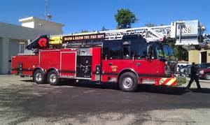 Fire Department Ladder Trucks