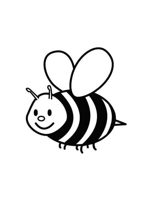 Coloring Bee by Bumble Bee Coloring Pages Clipart Best