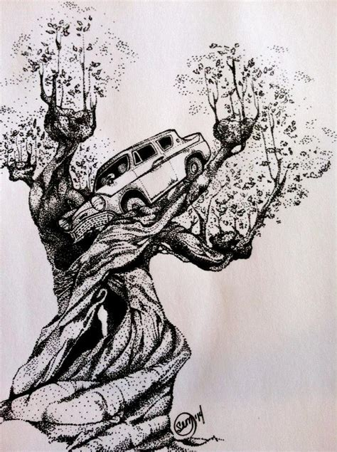 original harry potter whomping willow  flying car etsy