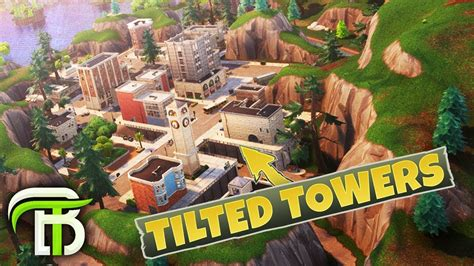 fortnite tilted tower clock