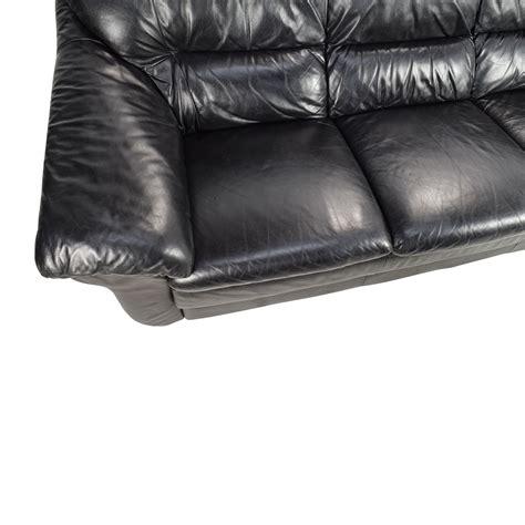 spagnesi italian leather sofa 79 off natuzzi natuzzi italian black leather sofa sofas