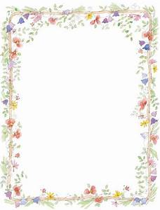 Pink floral borders flowers for wedding invitation for Wedding invitation page borders free download