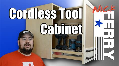 cordless tool cabinet ep