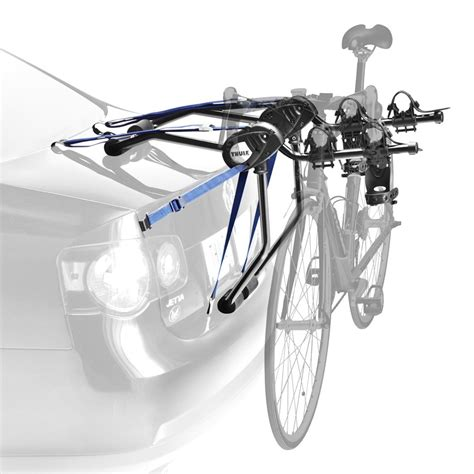 bike trunk rack thule 174 passage trunk mount bike rack