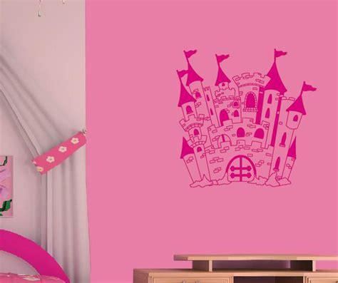 Wandtapete Kinderzimmer Mädchen by Schloss Wandtattoo Wandtattoos Wandaufkleber Aufkleber