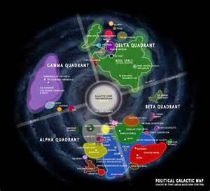 Star Trek Alternate Universe Map