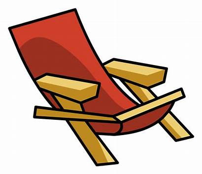 Chair Beach Clipart Chairs Lawn Club Outdoor