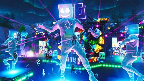 fortnite full marshmello  event fortnite battle