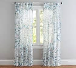 sheer curtains window sheers pottery barn