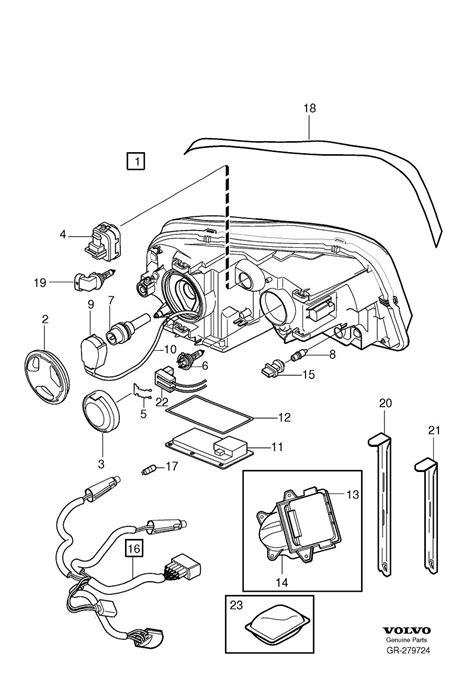2008 volvo xc90 wiring harness headlights headls 30796889 volvo wholesale parts direct