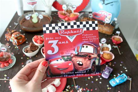 deco anniversaire 3 ans anniversaire 3 ans sp 233 cial cars le monde de nadoo