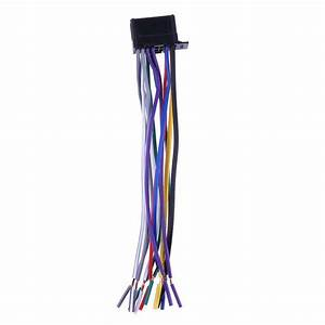 Vs2  Car Stereo Cd Player Radio Wiring Harness Wire