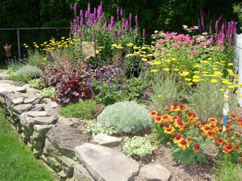 perennial garden plans zone 3 perennial garden designs zone 5 guide to northeastern gardening flowers pinterest