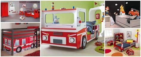 chambre garcon pompier decoration chambre garcon pompier visuel 1