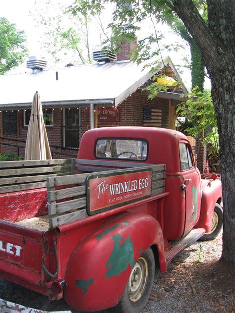 red chevy truck  hubba hubba smokehouse pickup