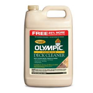 shop olympic olympic premium deck cleaner at lowes