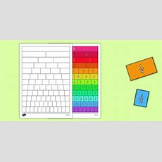 Fractions Wall Cut And Stick Worksheet  Worksheet  Fractions Wall