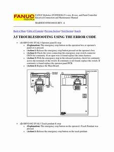 83421405 Fanuc Robotics System R J3 Troubleshooting And