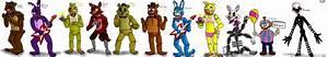 FnAF Characters 1/3 by Shimazun on DeviantArt