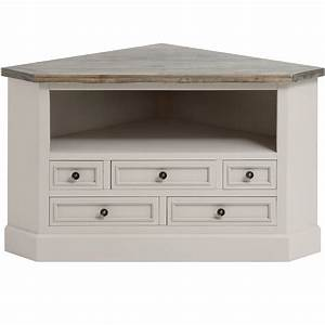 The Studley Collection Corner TV Unit From Baytree Interiors