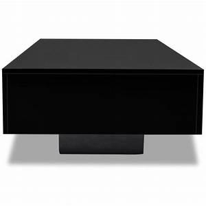 Couchtisch Schwarz Hochglanz : vidaxl hochglanz couchtisch beistelltisch wohnzimmer tisch kaffeetisch schwarz eur 67 99 ~ Orissabook.com Haus und Dekorationen