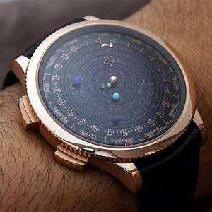 Jewels: watch, space, stars, planets - Wheretoget