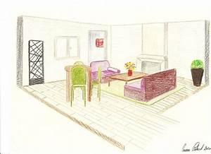 croquis salon avec emplacement radiateur design decor39in With salle de bain design avec formation en alternance décoratrice d intérieur