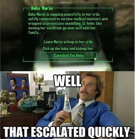 Fallout 3 Memes - fallout 4 in a nutshell meme by razor423 memedroid
