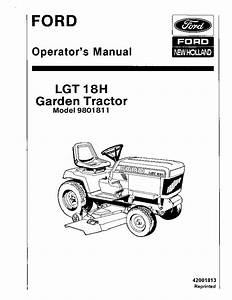 New Holland Ford Lgt18h Tractor Operator Manuals Pdf