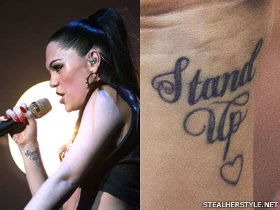 jessie js tattoos meanings steal  style