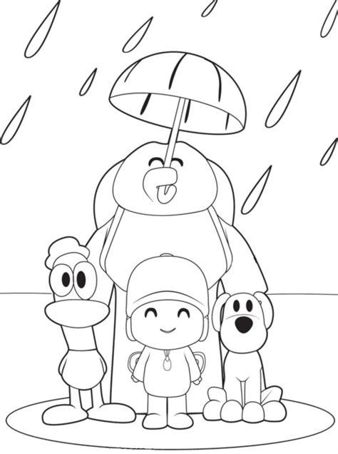 Pocoyo Páginas Para Colorear  Best Coloring Pages For Kids