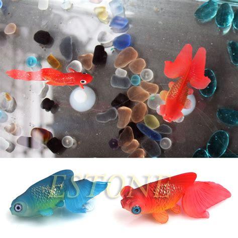 decor goldfish aquarium decoration artificial glowing effect fish tank ornament in decorations
