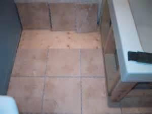 tiling a bathtub skirt bathroom floor tiling project creating vertical skirt
