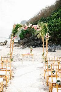 chic beach wedding ceremony ideas weddbook With ideas for beach weddings