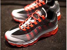 Nike Air Max 95+ BB Black Bright Crimson Dark Grey