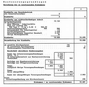 Zu Versteuerndes Einkommen Berechnen Tabelle : schritt f r schritt anleitung steuerbescheid 2015 pr fen ~ Themetempest.com Abrechnung
