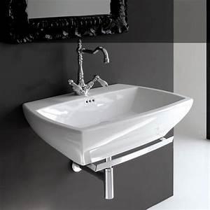 Waschbecken Für Küche : waschbecken mit handtuchstange tische f r die k che ~ Lizthompson.info Haus und Dekorationen