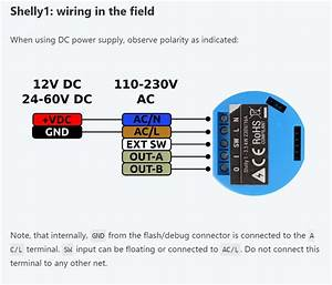 Shelly 1 - Open Source Wi-fi Switch - Shelly 1 - Creationx
