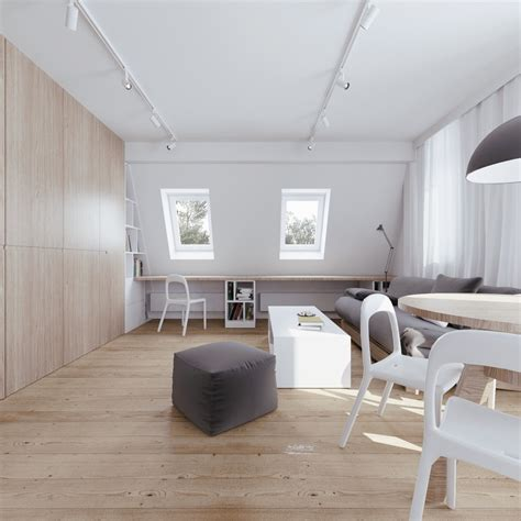 attic apartments beautiful attic apartment with clever design features
