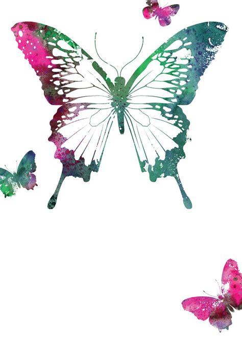 butterflies  printable birthday invitation template