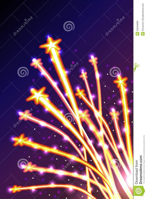 These two svg attributes, together, can be used to animate svg paths, giving the viewer the by setting the dash offset equal to the length of the curve, we will end up with an invisible curve. Star Line Light Fly Stock Vector - Image: 53544680