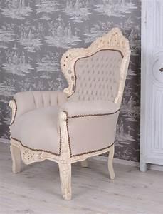 Sessel Shabby Chic : barocksessel vintage sessel shabby chic prunksessel weiss armlehnstuhl ebay ~ Eleganceandgraceweddings.com Haus und Dekorationen