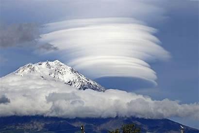 Lenticular Clouds Cloud 4k Mountain Sky Desktop