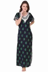 Designer Kurtis Online Wholesale Cotton Wholesale Ladies Printed Night Wear One Piece