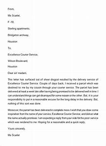 Letter of dissatisfaction for poor service altavistaventures Image collections
